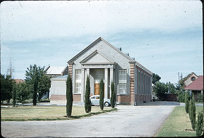Löhe Memorial Library in the 1960's